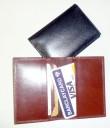 Pouzdro na kreditky kožené