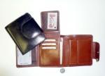 Dámská kožená peněženka - velmi dobře řešená
