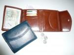 ukázka vnitřního řešení peněženky