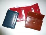Kožená luxusní dámská peněženka klopnová oboustranná