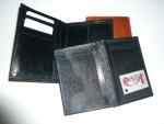 Kožená pánská peněženka s vyndavacím dílem na doklady