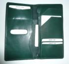 Cestovní kožené pouzdro na doklady a letenky