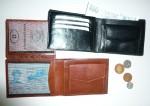 Kožená peněženka klasika hladká