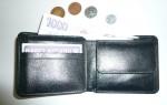 Menší kožená peněženka universální - nevejdou se doklady