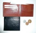 Malá universální jednoduchá peněženka kožená - není vhodná na doklady