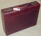 kufr kožený