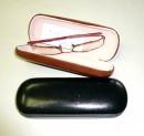 Kožená skeletová brýlovka pevná - i na větší brýle