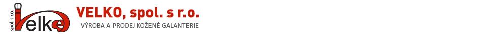 Velko spol. s r.o. - Výroba a prodej kožené galanterie